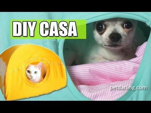 CASA DE GATOS - Casa para gatos casera (CAMISETA) ★ PetDarling Cama para mascotas 1