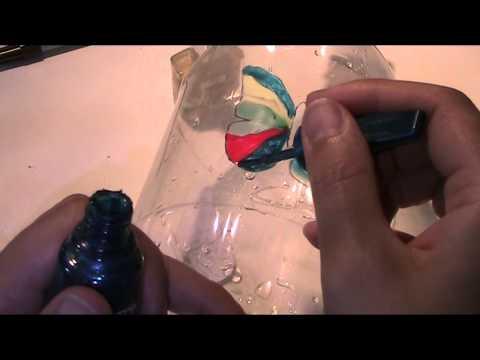 Anleitung und Vorlage - Schmetterlinge aus Plastik basteln