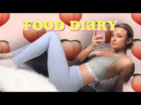 What I eat as a teenager (realistic and honest)🍑