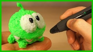 3Д РУЧКА - Ам Ням. 3D Pen - Om Nom. Каляка.