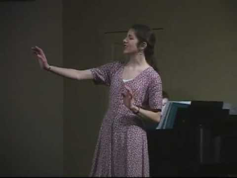 "Jaime Roanne Schwartz sings ""The Beauty Is,"" The Light in the Piazza"