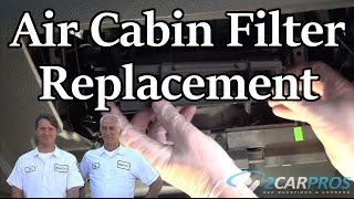 Cabin Air Filter Change Ford Edge