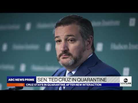 Sen. Cruz on ABC News Discusses COVID-19 & Decision to Extend Self-Quarantine