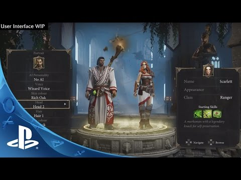 Видео № 1 из игры Divinity Original Sin - Enhanced Edition [PS4]