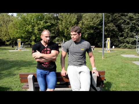 W górę mięśni piersiowych ćwiczenia w domu