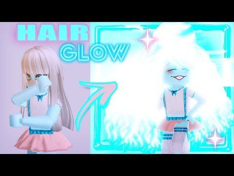 HOW TO GET GLOWING HAIR! Royale High GLOW UP Tutorial!