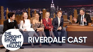 Download Youtube: The Cast of Riverdale Gives Jimmy Fallon His Own Jughead Crown