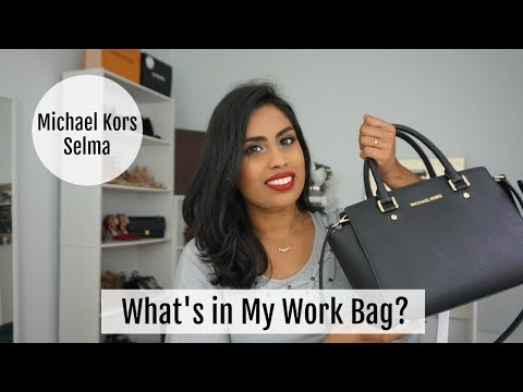 What's in My Michael Kors Selma Bag | Review | Samadhi Herath