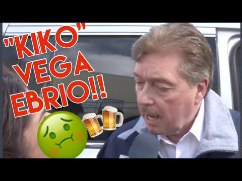 'Kiko' Vega comparece ebrio ante los medios