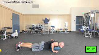 24 Minute HIIT Tabata Workout by sickfitbootcamp