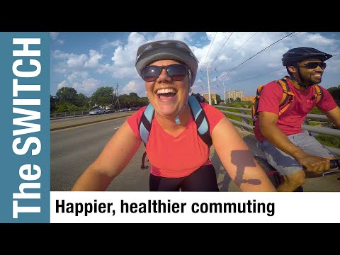 Commuting Sustainably: Teachers Carpool or Bike to Work - and love it!  - THE SWITCH - Episode 1