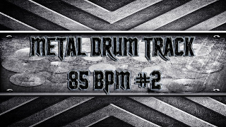 Easy Metal Drum Track 85 BPM (HQ,HD)