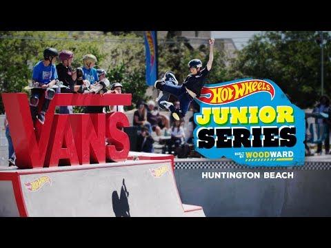 Zion Effs Shreds Huntington Beach - Hot Wheels Junior Series