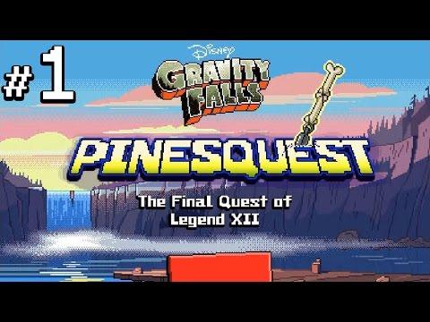 Пещера мужикотавров - Gravity Falls PineQuest - #1