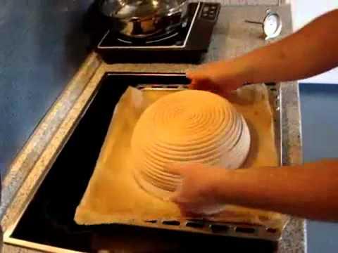 cestino lievitazione pane