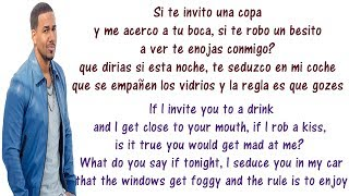 Romeo Santos - Propuesta Indecente - Lyrics English and Spanish - Indecent Proposal - Translation