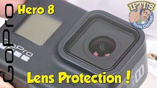 GoPro Hero 8 Black : Lens Protection & Applying Tempered Glass!