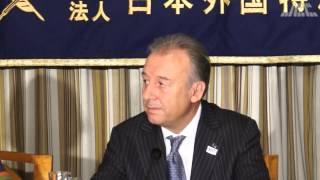 サッカー日本代表監督アルベルト・ザッケローニ1