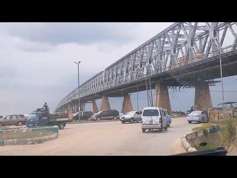 Driving through Onitsha Ado, Anambra State