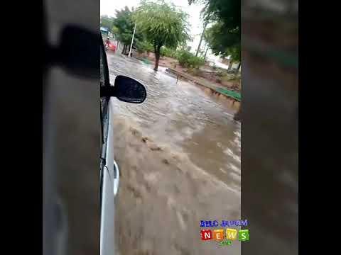Chuva forte na manhã deste sábado aqui em Belo Jardim.