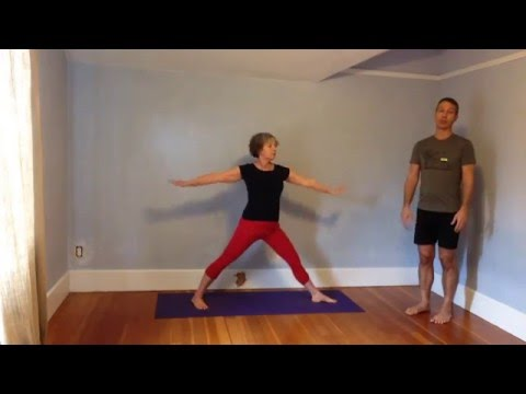 yoga for healthy aging video of the week warrior 2 mini