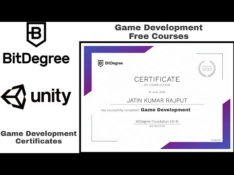 Game Development Certification Course by BitDegree   Free ...