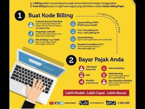 Cara membayar Pajak menggunakan Internet Banking