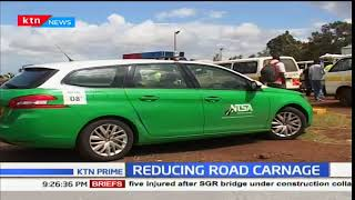 NTSA carryout a major crackdown on Thika rd in a bid to reduce road carnage