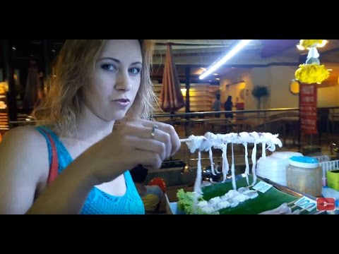 , title : 'Уличная еда в Таиланде. Таиланд, Паттайя, кальмары, насекомые'