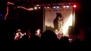 Power To The Peaceful by Anti-Flag LIVE @ Reggie's (01.31.15)
