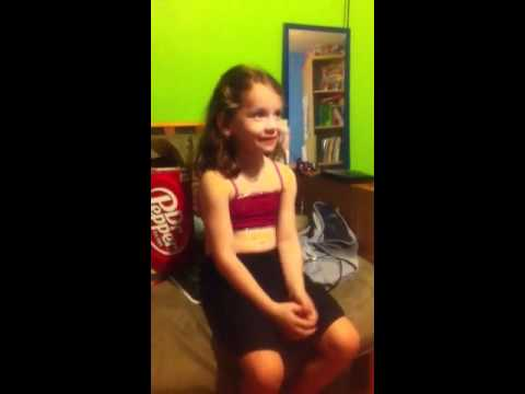 Bad little girl!!!!!