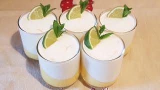 Mahalabiya au citron