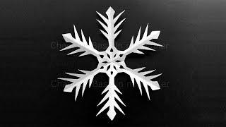 How To Make A Snowflake Out Of Paper Make Snowflakes Out Of