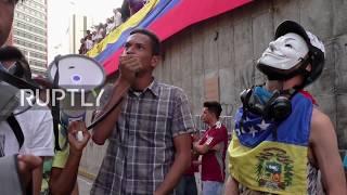 Venezuela: Anti-Maduro protesters honour