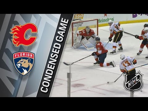 Calgary Flames vs Florida Panthers – Jan. 12, 2018 | Game Highlights | NHL 2017/18. Обзор матча