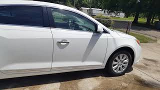 2011 Buick LaCrosse starting without key or using automatic start. Need help an attorney at law