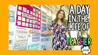 a Day in the Life of a First-Year Kindergarten Teacher!