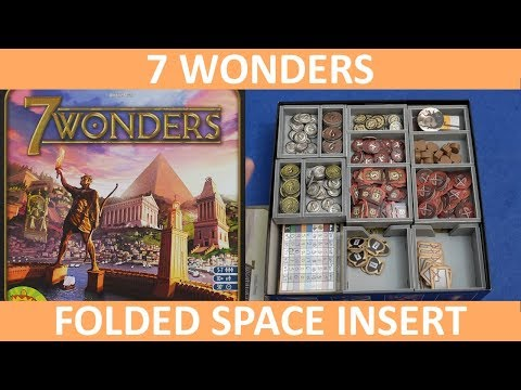 7 Wonders - Folded Space Insert Overview - slickerdrips
