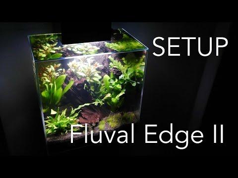 Aquascaping Aquarium Setup - Fluval Edge II
