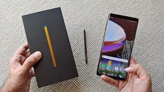 Samsung Galaxy Note 9 Unboxing & Overview