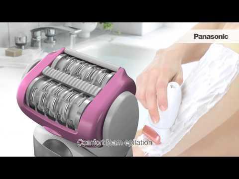 Wet/Dry Epilator ES-ED90 Product Video