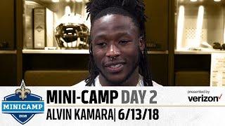 """Kamara: """"I'm in the best shape of my life""""   2018 Mini Camp"""