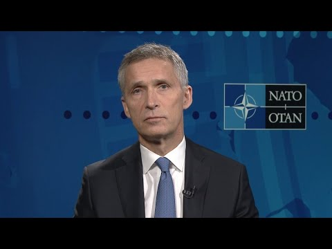 NATO chief hails strength of transatlantic bond on defence, security