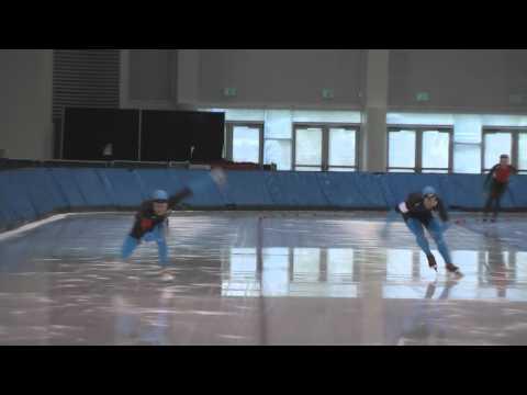 Speed Skating - Parker Vance - Tucker Fredricks -  500 Meters - October 9, 2010