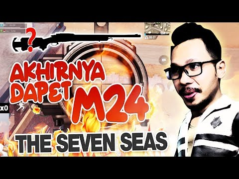 SKIN TERBAIK M24 THE SEVEN SEAS - PUBG MOBILE INDONESIA
