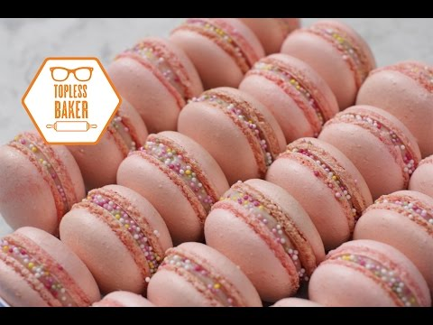 Strawberry Macaron Recipe – Topless Baker