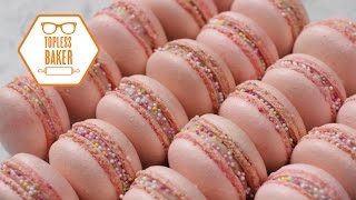Strawberry Macaron Recipe – Topless Baker