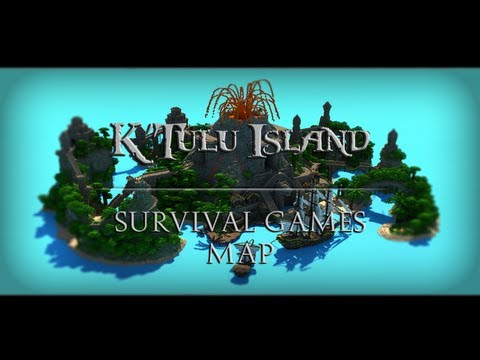 K'Tulu Island - Survival Games Map for Hypixel Minecraft Project