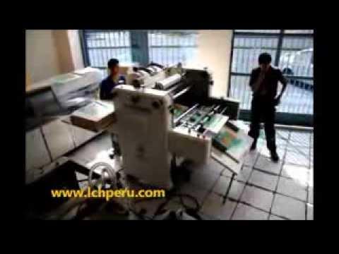 Plastificadora Semi automática LCH, Mod. PLASTIMATIC EVOLUTION