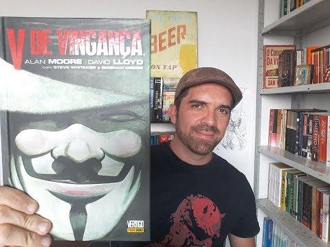 V de Vingança de Alan Moore e David Lloyd